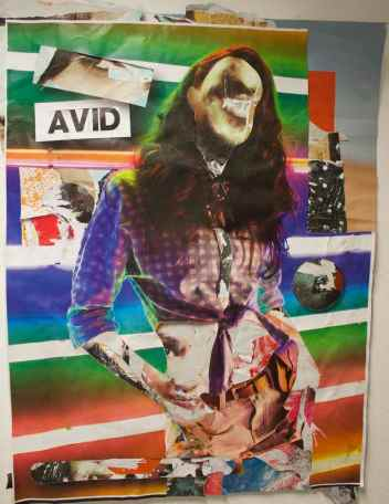 Avid decollage